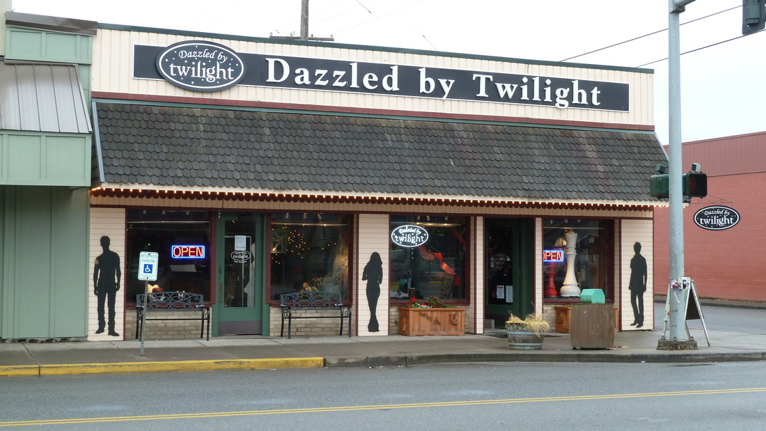 Great place to shop in Forks, Washington for fans of the Twilight movies.