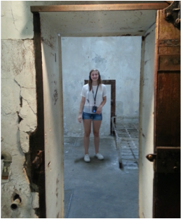 Looking inside the cells at Eastern State Penitentiary