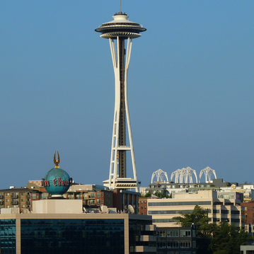 View of the Space Needle - from Visiting Seattle with Teens: 10 Fun Ideas