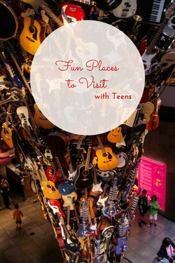 Fun Places to Visit with Teens