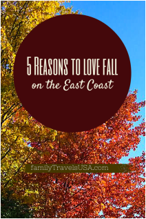 5 Reasons to Love Fall on the East Coast.