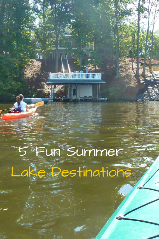 5 fun summer lake destinations familytravelsusa for Fun road trip destinations east coast