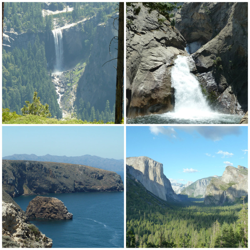 Beautiful Yosemite, Kings Canyon and Channel  Islands National Parks