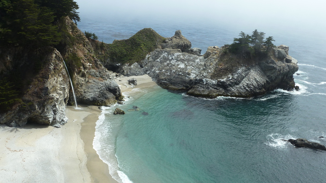 Postcard perfect Julia Pfeiffer Burns State Park is a definite stop if you are driving along the Pacific Coast Highway.