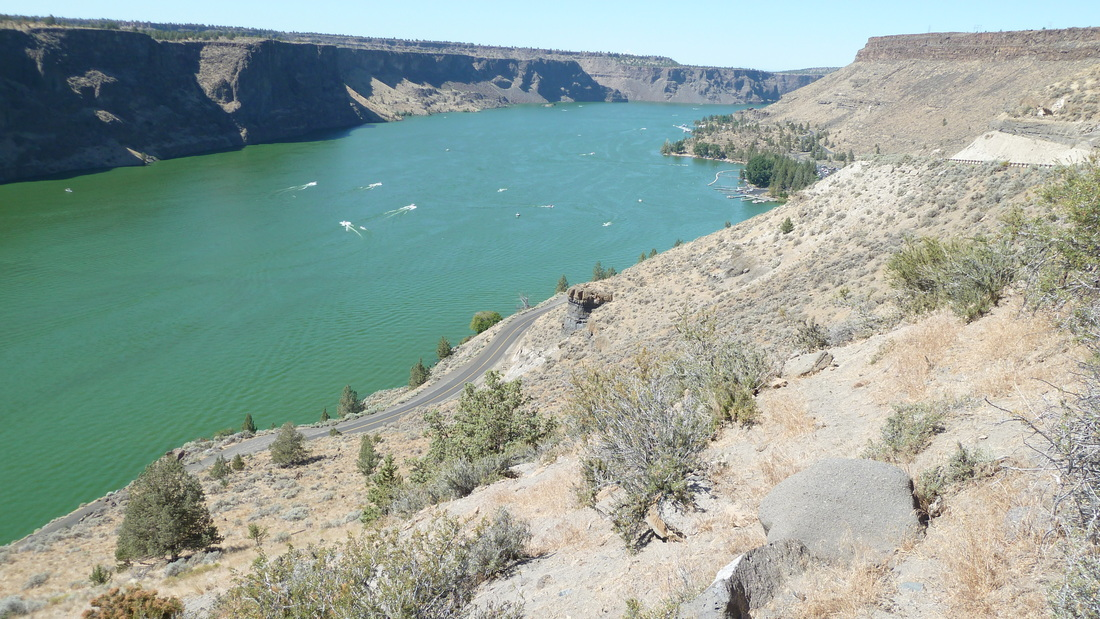 Cove Palisades State Park  - fun place to stop for a swim in Oregon.