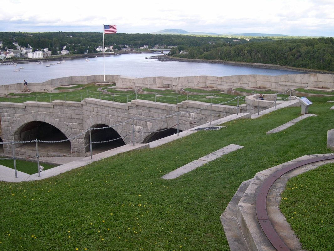 Fort Knox, Prospect, Maine