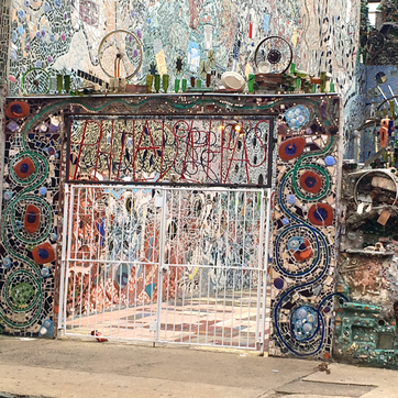 Philadelphia Magic Gardens - One of 5 Unique Places to Add to Your List in Philadelphia.