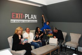Looking for a fun activity? Then gather your friends and family and head to an escape room.