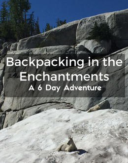 The Enchantments is a spectacular place for backpacking in Washington State.