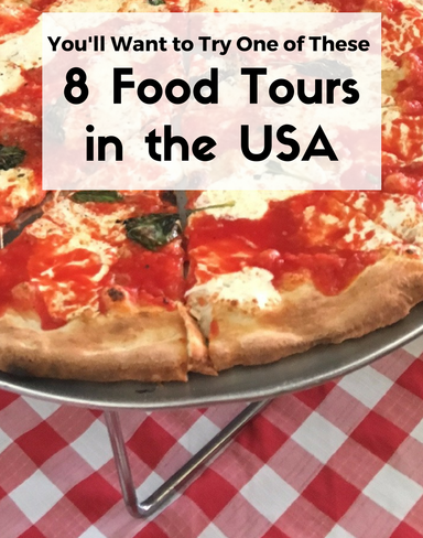 Food tours are the perfect way to get to know a city. Check out these 8 favorites from travel bloggers across the USA.