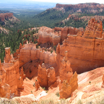 The iconic hoodoos at Bryce Canyon National Park. Learn more about visiting Bryce, Arches & Zion on the blog.