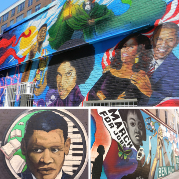 DC has so much cool street art, especially in the neighborhood near the iconic Ben's Chili Bowl.