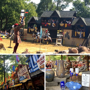 Attending the Maryland Renaissance Festival is one of 5 fun ways to celebrate fall in the Mid-Atlantic region.