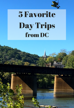 So many fun day trips from DC, including Annapolis and the Eastern Shore in Maryland, Harpers Ferry in West Virginia and the scenic countryside of Loudoun County, Virginia.