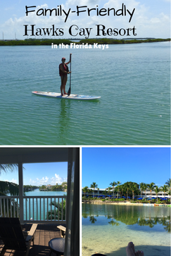Hawks Cay Resort is a family friendly resort in the Florida Keys.