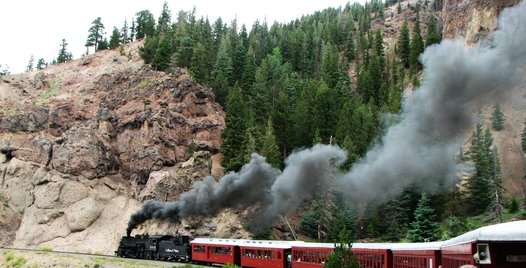 We rode the Cumbres & Toltec Scenic Railroad as part of a Southwest US road trip. So cool and the highest steam-operated narrow gauge railroad in the US.