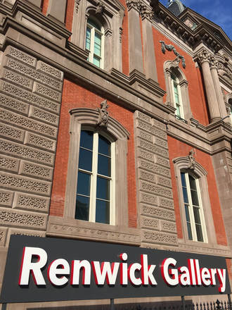 Walking Through the Fascinating Art World in DC. Don't miss the Renwick Gallery!