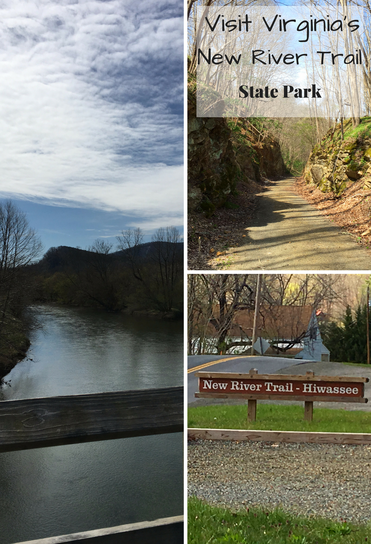 Visit Virginia's New River Trail State Park for biking, hiking, horseback riding and water fun.