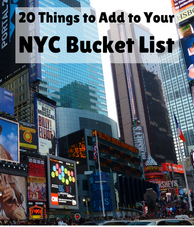20 things to add to your new york city bucket list for Family things to do in nyc