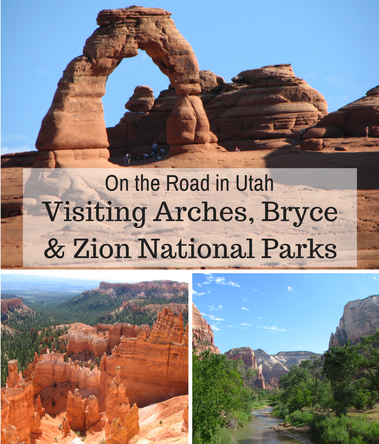 Loved visiting Arches, Bryce & Zion National Parks during a road trip in Utah.