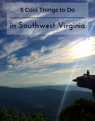 Check out these 5 cool things to do in southwest Virginia, including a sunrise hike like this one to McAfee Knob.