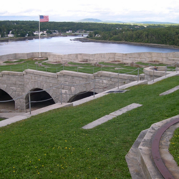 Fort Knox in Prospect Maine is a perfect stop on a road trip from Boston to Bar Harbor.