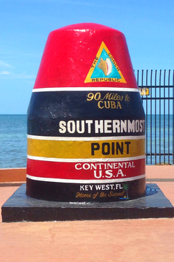 10 Things You Must Do in the Florida Keys with Teens - Visit the southernmost point in the continental US