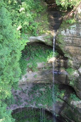 Starved Rock State Park in Illinois. One of 8 state parks to visit this fall.
